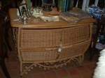 wicker chest front view